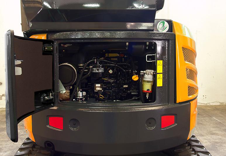 KATO 30 V4 Kurzheckbagger mit 17,5 kW Leistung