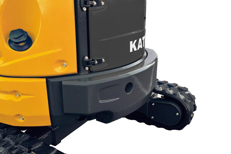 KATO 30 V4 Minibagger mit Gummiraupen