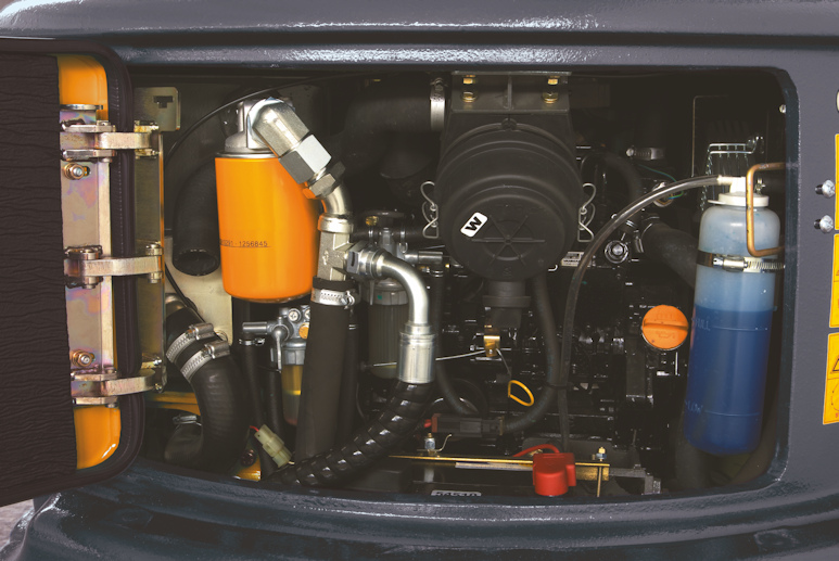 KATO 17 VXE Minibagger mit 10,5 kW Motor