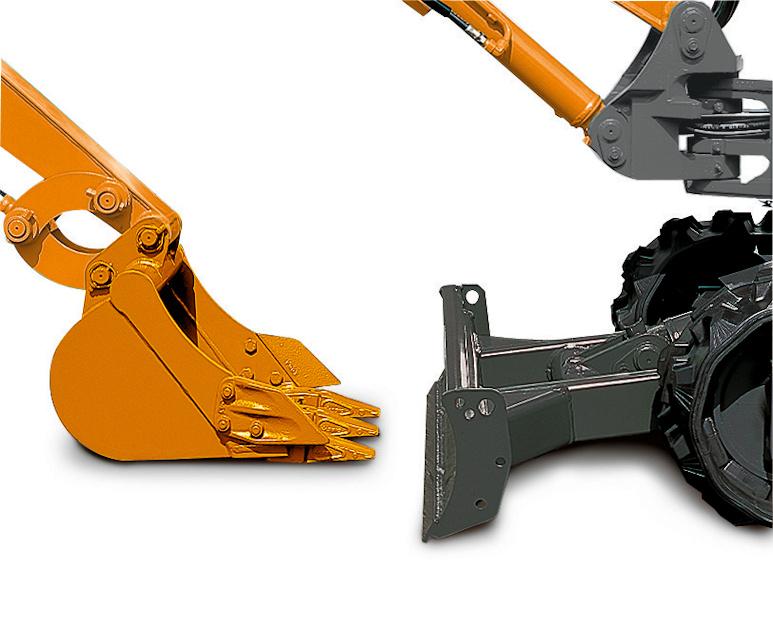 KATO 17VXT Minibagger Details