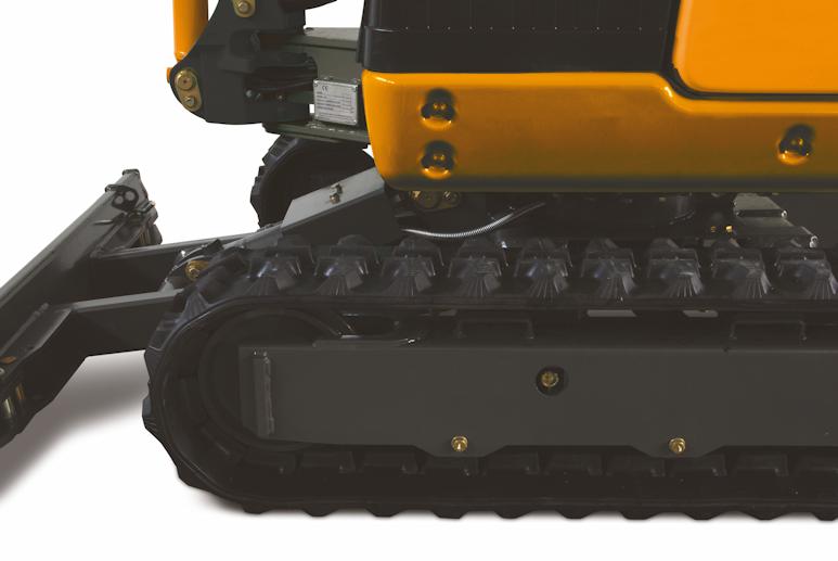 KATO 17VXE Minibagger mit Gummiketten oder Stahlketten