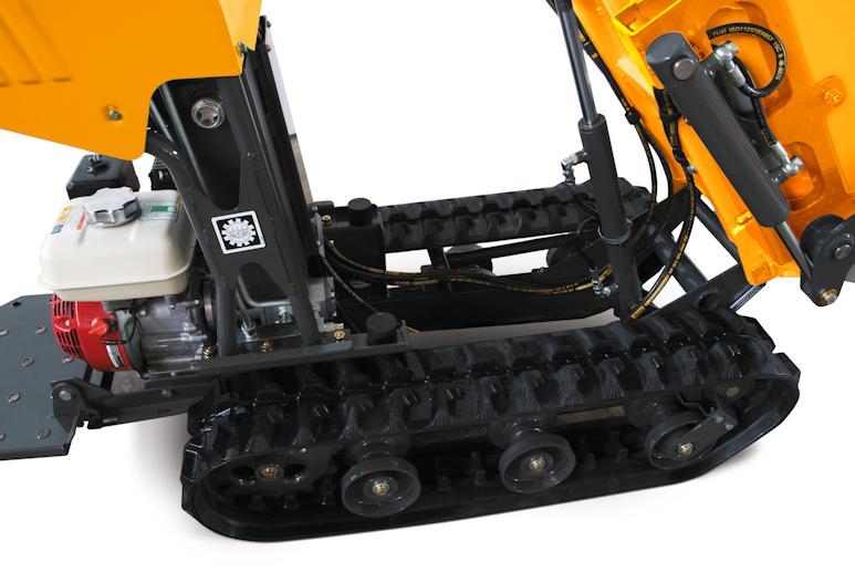 Gummiraupen des KATO Carry 105 Minidumper