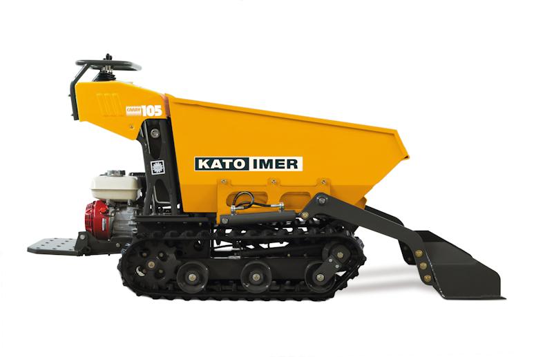 KATO Carry 105 Dumper für den Einsatz am Bau