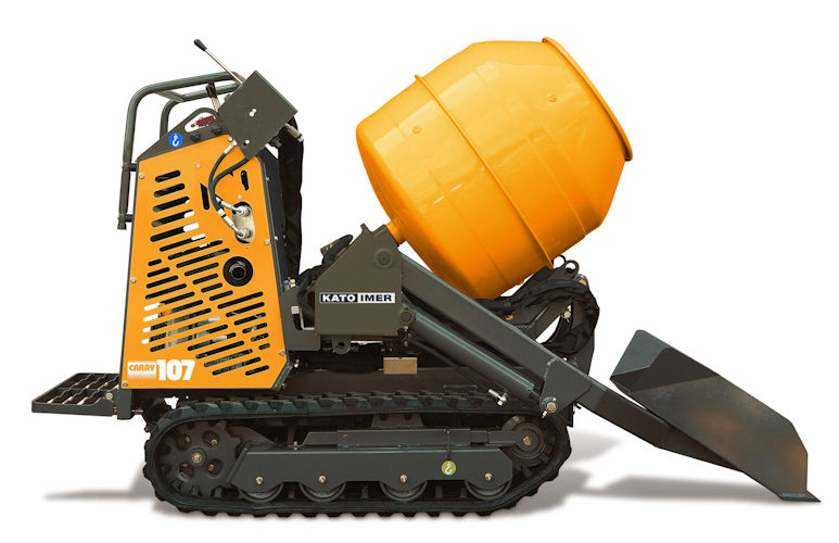KATO Carry 107 Dumper mit Betonmischer