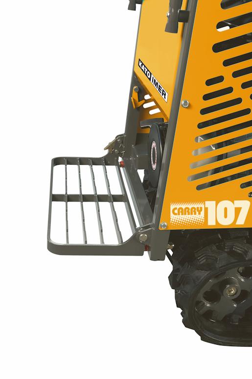KATO Carry 107 Raupendumper mit klappbarem Trittbrett