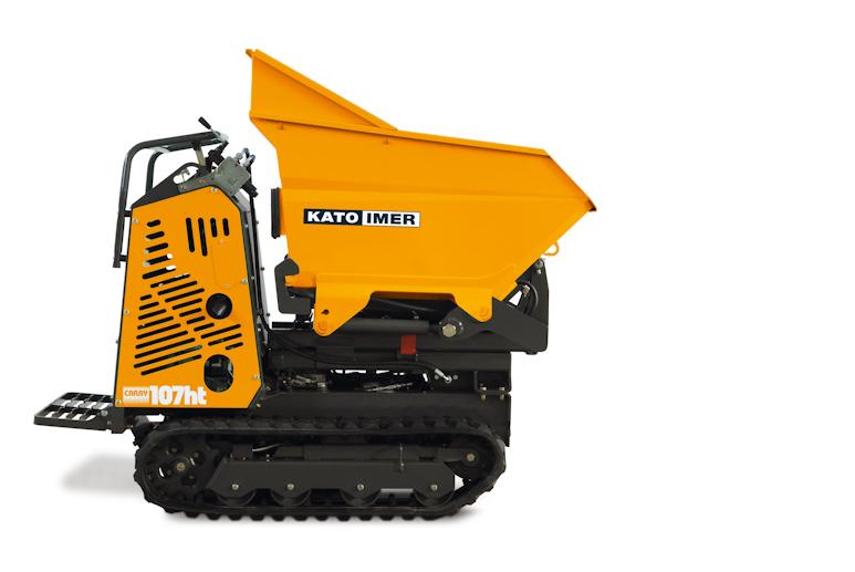 KATO Carry 107ht Dumper mit vielen Einsatzmöglichkeiten