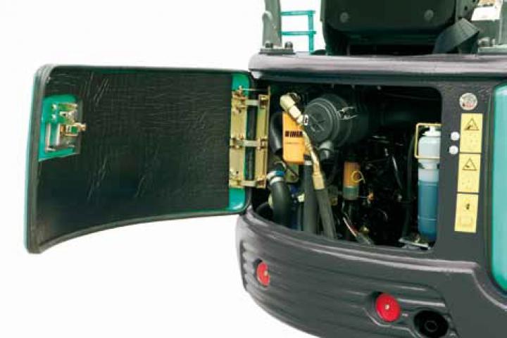 KATO 17 VXT Minibagger