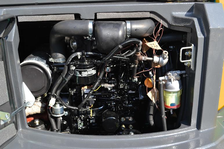 KATO 35 N Minibagger mit 20 kW Leistung