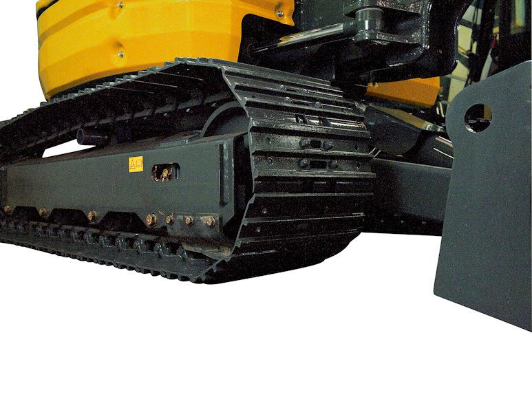 KATO 55 V4 Kurzheckbagger mit Gummi- oder Stahlketten