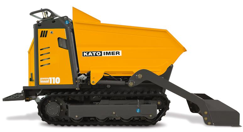 KATO Carry 110 Raupendumper mit Schnellwechseleinrichtung
