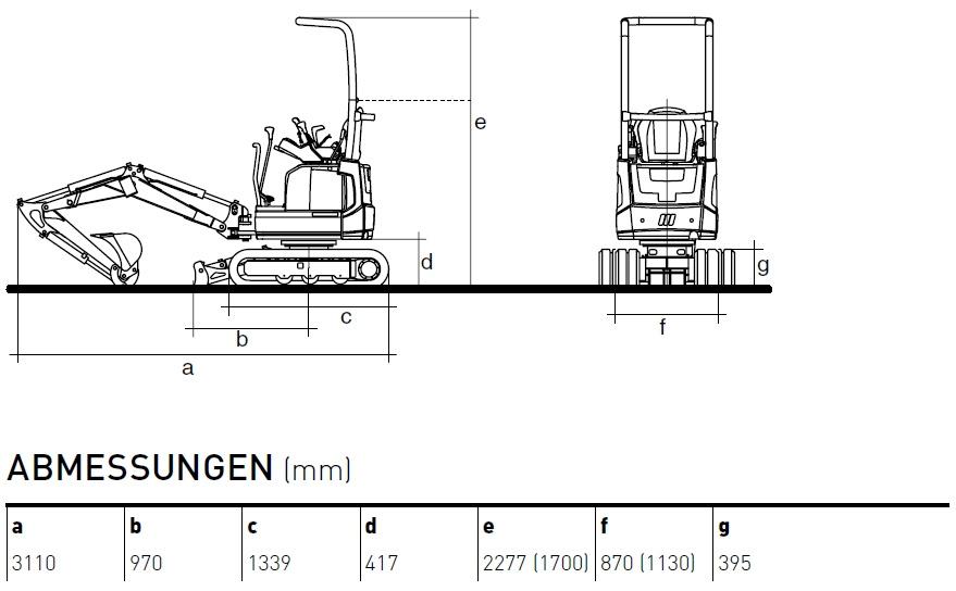 KATO 12 VXE Diagramm