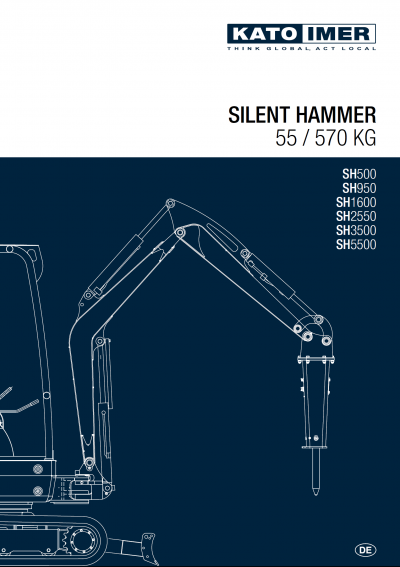 Vorschaubild zum KATO Abbruchhammer Katalog