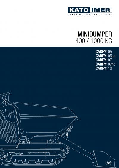 Vorschaubild zum KATO Minidumper Katalog