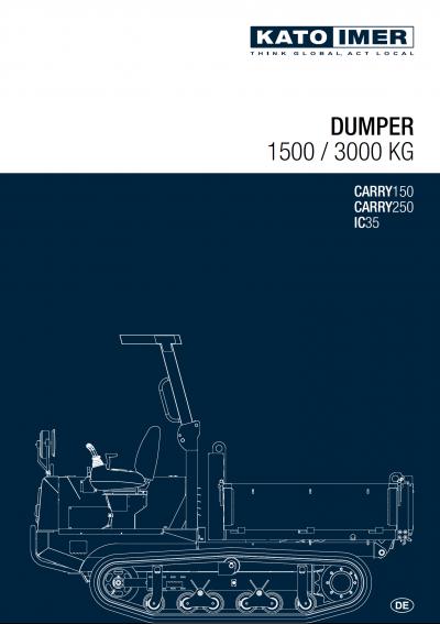 Vorschaubild zum KATO Dumper Katalog